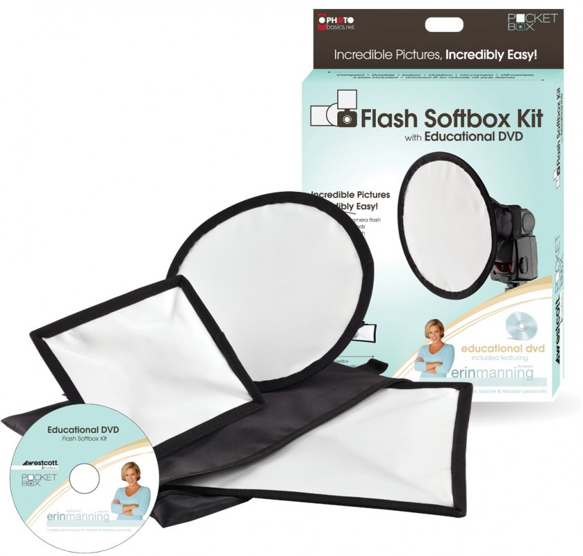 Westcott Basics Erin Manning PocketBox Flash Softbox Kit. Lighting  sc 1 st  Erin Manning & Westcott Erin Manning Home Studio Lighting Kit - Erin ManningErin ... azcodes.com