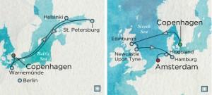 cruises 5219 and 5220