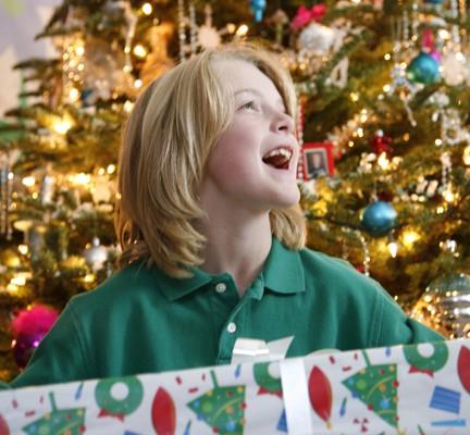 Jack with Christmas Present