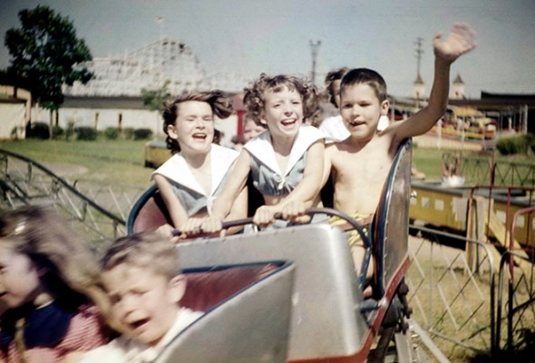 Rollercoaster 1950s